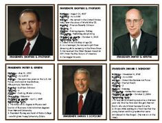 LDS Twelve Apostle Cards -- great for activities during General ...