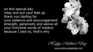Mothers day quotes from husband