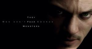 Luke Evans moustache