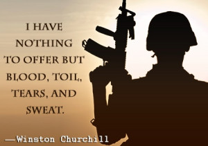 Soldier Quotes About War World war two quote by winston