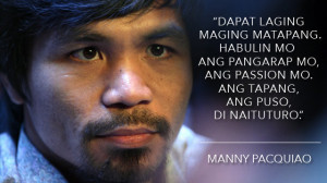 Lessons on bravery from Manny Pacquiao