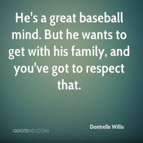 Dontrelle Willis - He's a great baseball mind. But he wants to get ...
