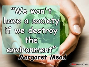 Environmental Quotes HD Wallpaper 13