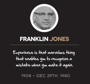 Franklin Jones Quotes