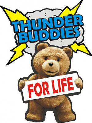 Ted Thunder Buddies Wallpaper Ted Thunder Buddies For Life