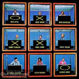 Hollywood Squares Game Show