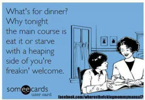 What's for dinner tonight