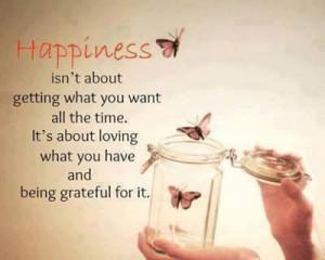 Quote - Happiness/Gratitude