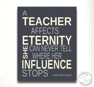 Quotes for Teachers Unique Gift Idea