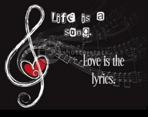 """People haven't always been there for me but music always has."""""""