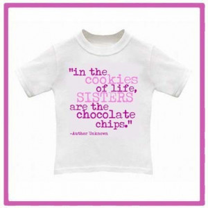 FUN SISTER QUOTE - Baby ONESIE or Toddler TEE - Available in newborn ...