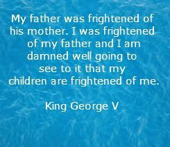 King George V Father's Day Quote
