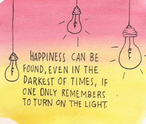 the lights positive quote share this positive quote on facebook