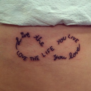 Music quote tattoos for musican