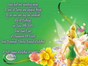 Tinkerbell Birthday