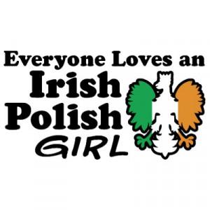 Irish Polish Girl Tsh... )