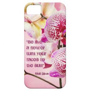 Floral Kahlil Gibran Quote