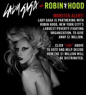 NEW YORK CITY: Lady Gaga To Donate $1M To Groups Supporting LGBT Youth