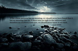 Lewis quote.