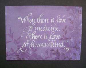 Doctor Appreciation, Nurse Appreciation, Hospice, Hippocrates Quote 5 ...