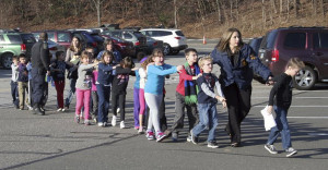 Tragic Photos From The Sandy Hook Elementary Shooting Aftermath