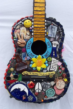 peace love and hippie quotes | hippie guitar photo ... | Music