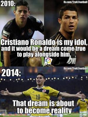 James Rodriguez Soccer