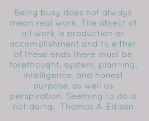 Pictures and Quotes About Being Busy at Work