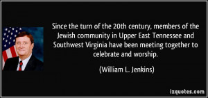 Since the turn of the 20th century, members of the Jewish community in ...