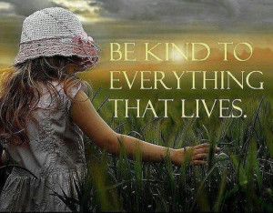 Kindness matters. It comes back to you.