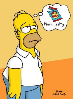 24820Bpthe Simpsons Homer Mmm Salty