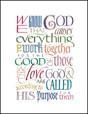 Home > Themed Plaques > Inspirational Plaques > Romans 8:28
