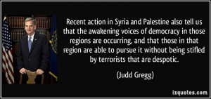 More Judd Gregg Quotes