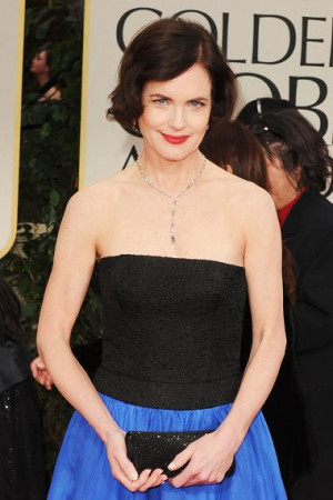 Actress Elizabeth Mcgovern...