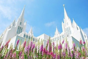 LDS San Diego Temple. My favortite temple...Beautiful!