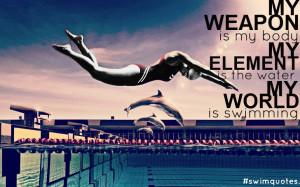 Swimming Quotes Tumblr Big...
