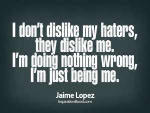 all my haters quotes