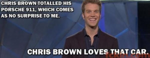 Anthony Jeselnik on Chris Brown