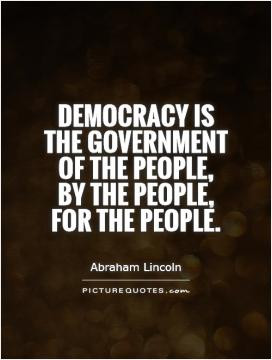 Democracy Quotes Blanche Lincoln Quotes