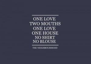 The Neighbourhood: Sweater Weather