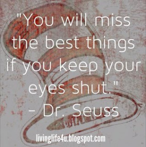 Dr. Seuss Quotes – Day 2: Take a moment in your busy day to stop and ...