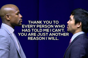 if manny pacquiao quotes were motivational posters who will win boxing ...