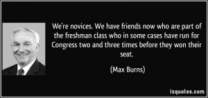 . We have friends now who are part of the freshman class who in some ...