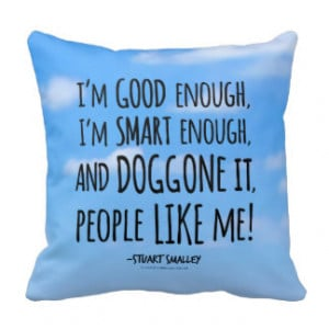 Stuart Smalley's Daily Affirmation Pillows