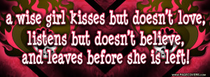 quotes about heartbreak wise girl facebook cover pagecoverscom 850x315