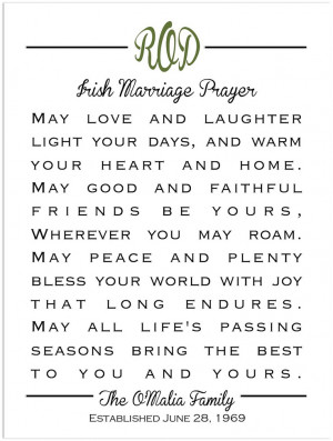 . Just lovely =)Irish Wedding Ideas, Wedding Blessing, Irish Quotes ...