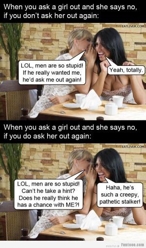 LOL, men are so stupid!