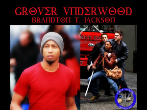 Percy Jackson Wallpapers with Brandon T. Jackson as Grover Underwood ...