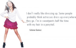 selena gomez, quotes, sayings, about fashion, clothes
