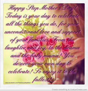 Step Mother's Day quote.